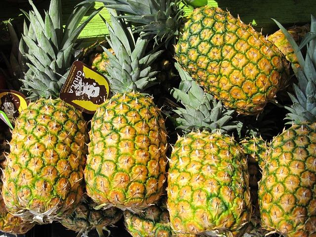 黄色いパイナップル