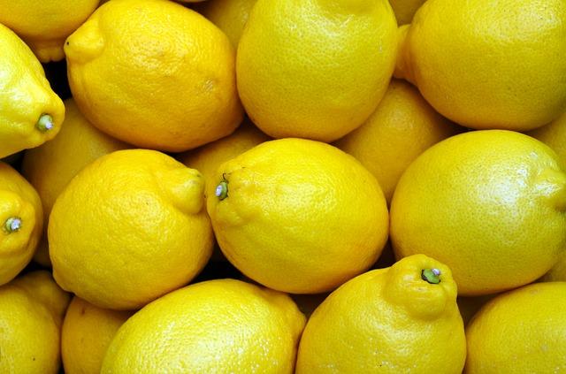 沢山のレモン