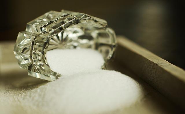 こぼれた塩