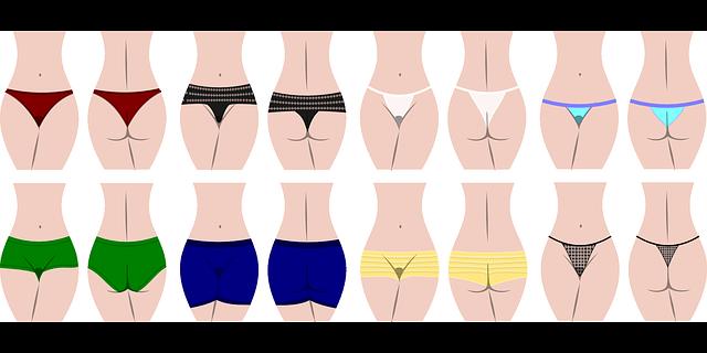16人の女性の水着