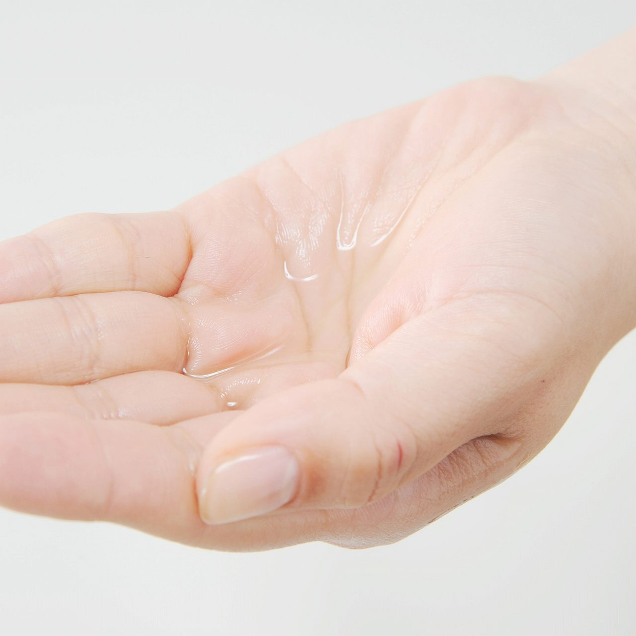 手の平に抑毛剤