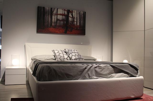 大きなベッド