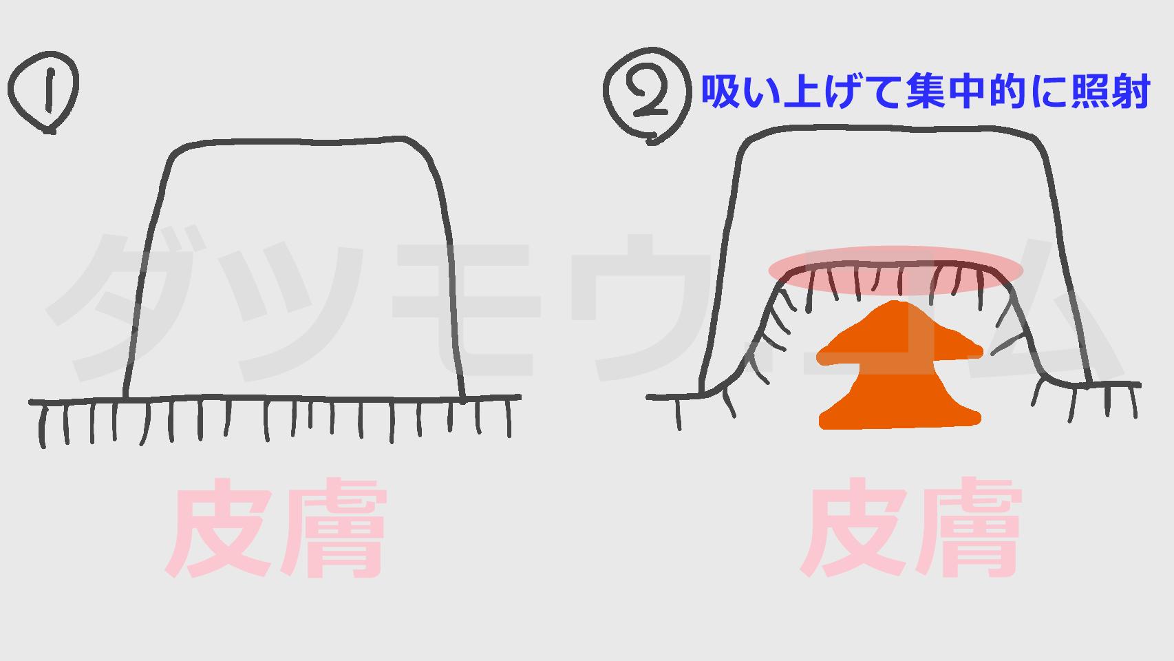 ライトシェアデュエットの構造