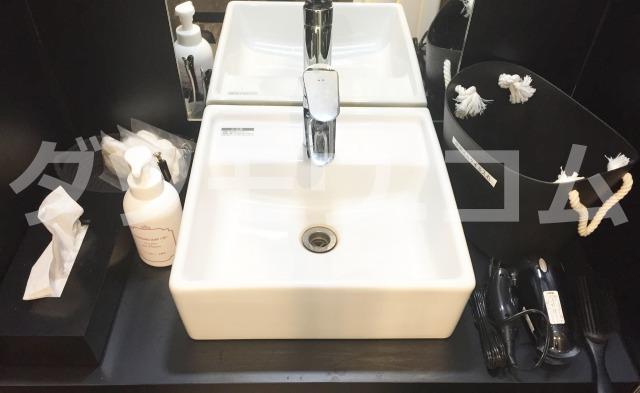 ゴリラクリニックの化粧室