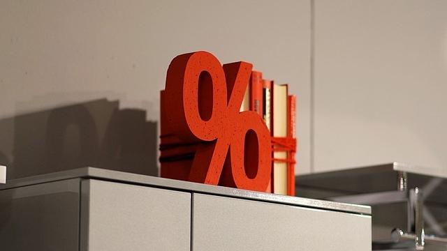 赤いパーセント
