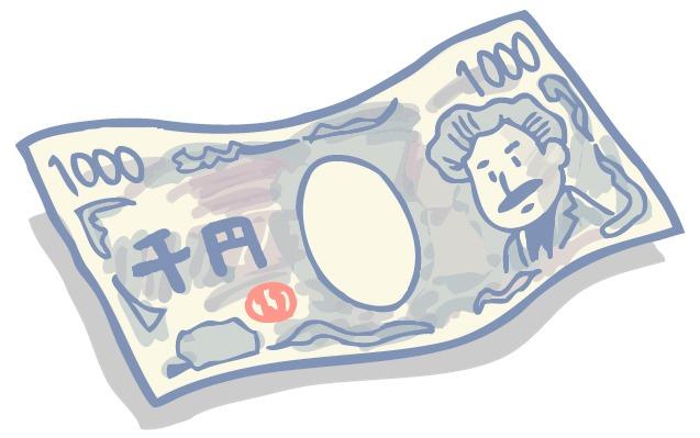 絵で出来た千円札