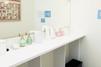 キレイモ(KIREIMO)あべの店の化粧台