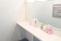 キレイモ(KIREIMO)川崎店の化粧台