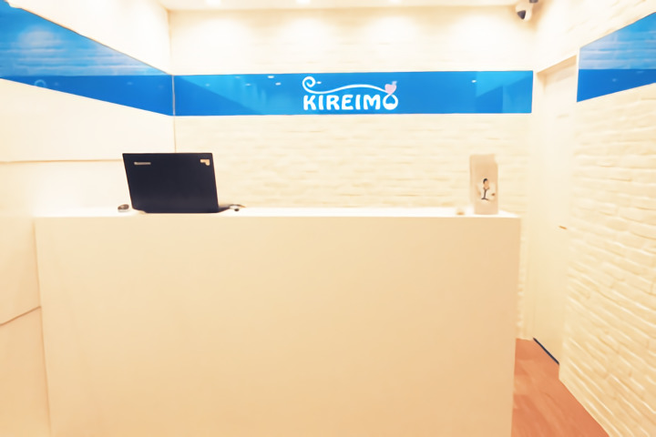 キレイモ(KIREIMO)なんば店のカウンター