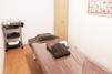 キレイモ(KIREIMO)なんば店の施術室とベッド