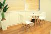 キレイモ(KIREIMO)新潟万代店の椅子と机