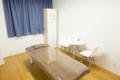 キレイモ宮益坂店の施術室とベッド