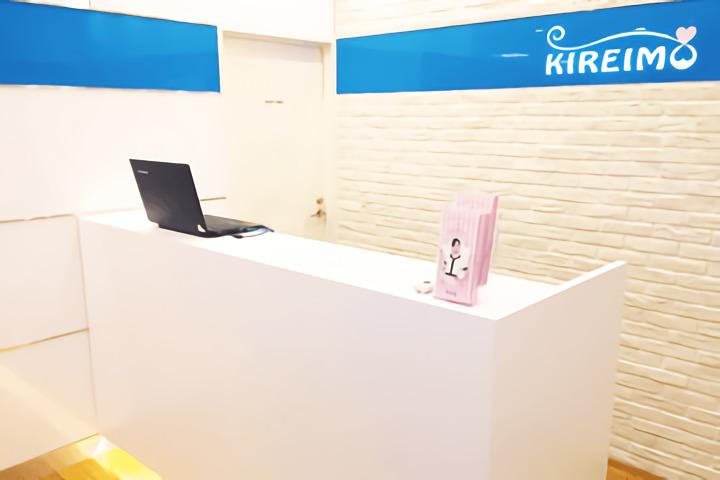 キレイモ(KIREIMO)四条河原町店のカウンター