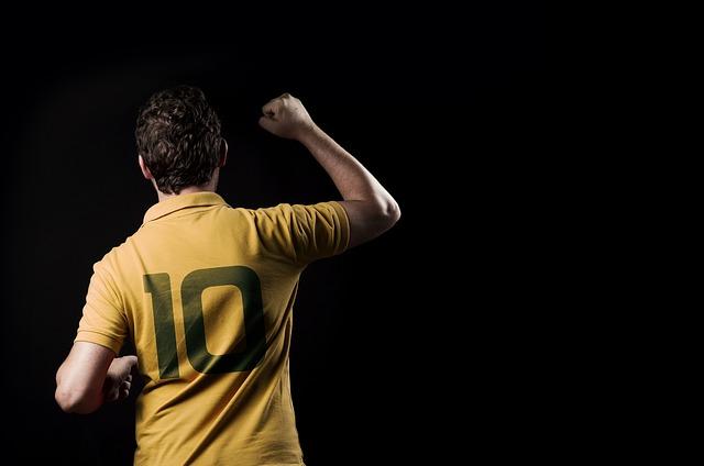10番のサッカーユニフォーム
