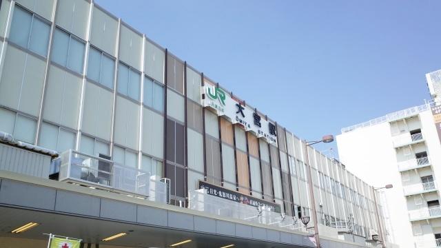 大宮駅の入口