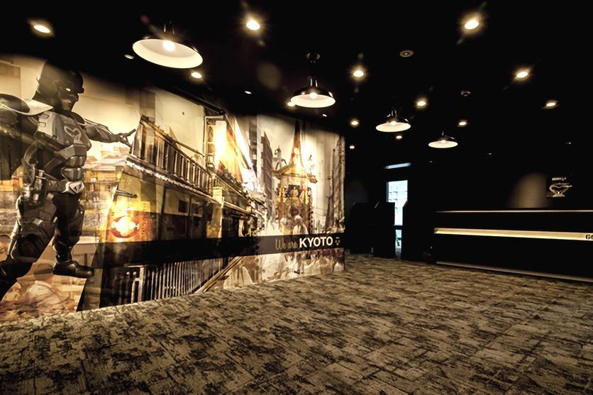 ゴリラクリニック京都烏丸院の待合室
