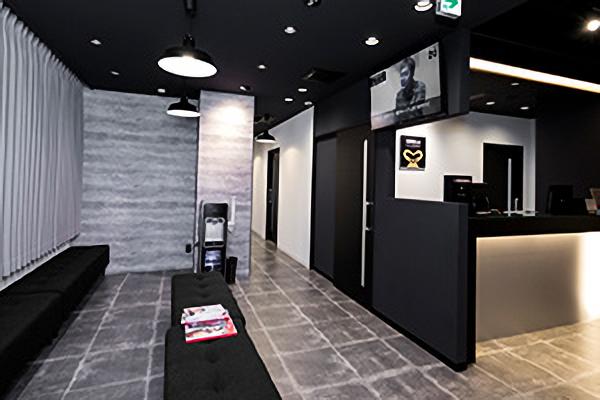 ゴリラクリニック横浜院の待合室