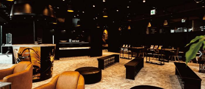 ゴリラクリニック大阪梅田院の待合室