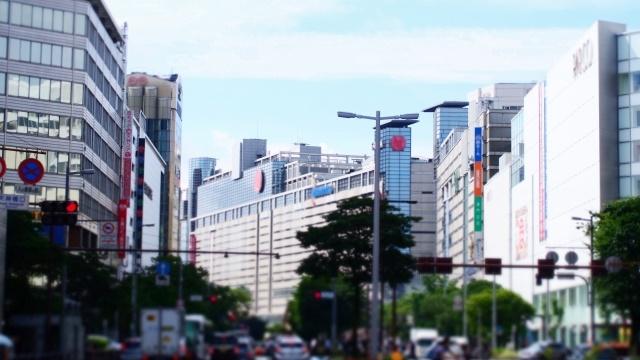 渡辺通りの景色