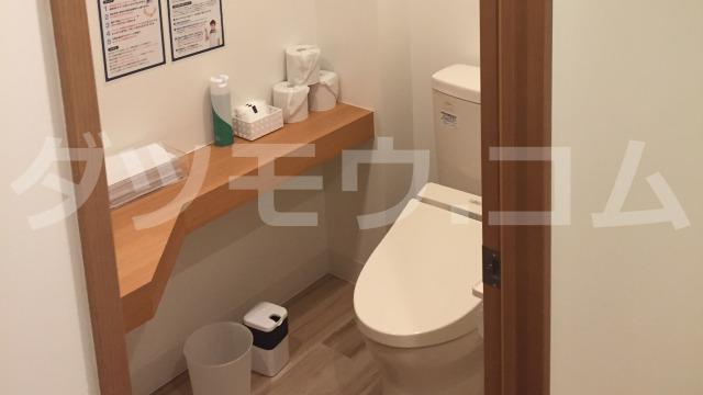 ストラッシュ新宿西口店のトイレ